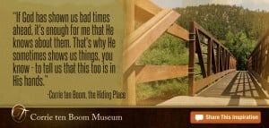 Quotes by Corrie ten Boom