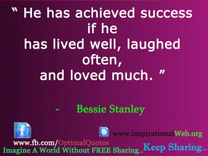 Famous Quotes by Bessie Stanley