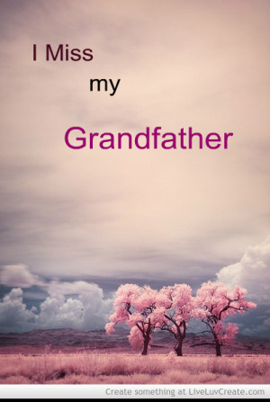 Miss My Grandfather