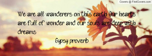 gypsy proverb cover