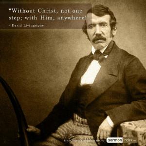 David Livingstone Quote