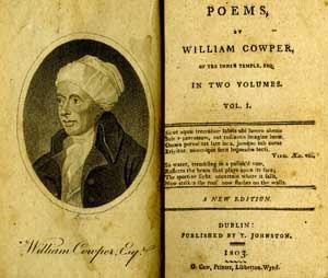 William Cowper (1731-1800)