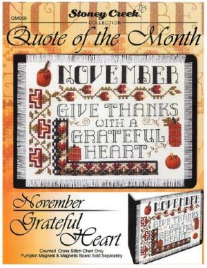Ricamo » Schemi Punto Croce » Quote Of The Month-November