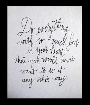 Handwritten Quotes