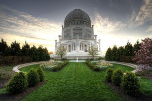 Baha'i temple in Chicago