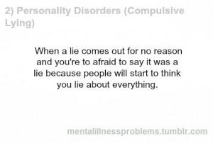 Pathological Liar Quotes Compulsive lia