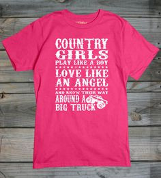 Country Boyfriend Quotes Stylish country girls tees in