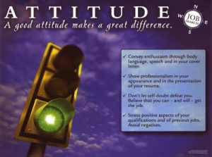 Skills and attitudes to handle the ever changing work place