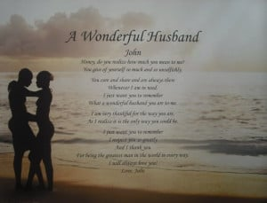 Poems for a Wonderful Husband | poems memorial poems grandparent poems ...
