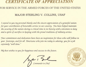 Quotes For Certificates Of Appreciation