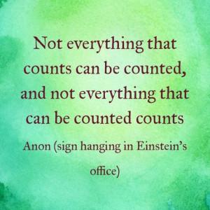 Einstein #InspiredbeCAUSE #EverydayHero #NotEverythingCounts