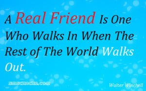 real friend quotes and sayings