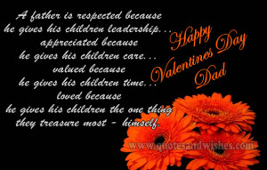Happy Valentines Day 2013 wishes for father/daddy, Picture quotes ...