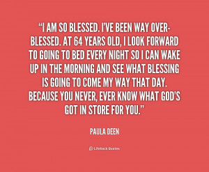 AM So Blessed Quotes