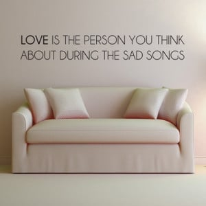 Love Quote - Wall Decals