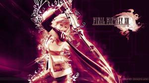 Lightning Final Fantasy Xiii Wallnen HD Wallpaper