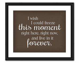 The Hunger Games Quote Art Freeze This Moment by AllTheBestQuotes, $5 ...