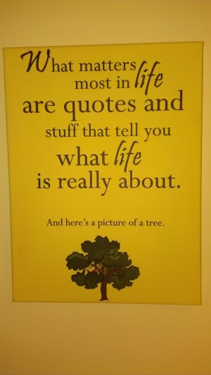 Buy It Now!: What Matters Most In Life Are Quotes And Stuff That Tell ...