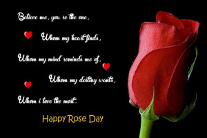 Cute Rose Day Quotes and Sayings