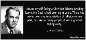More Henry Fonda Quotes