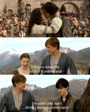Funny Pictures, Edmund Narnia, Narnia Funny Quotes, Film Quotes Funny ...