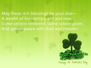 Famous Short St. Patrick's Day 2015 Quotes Poems For Kids