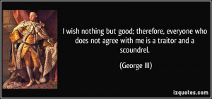 More George III Quotes