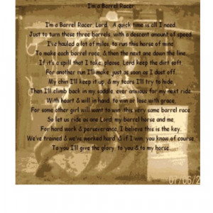 related pictures barrel racing poem by marco