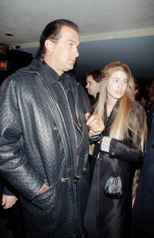 Steven Seagal And Arissa Wolf