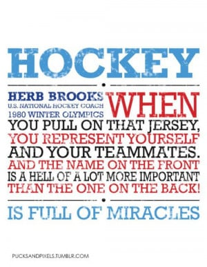 ... quote. If thinking about the Miracle on Ice doesn't make you feel