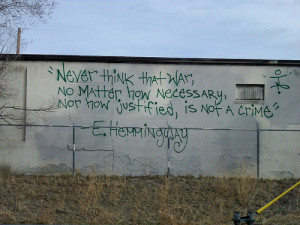 Graffiti Quote!