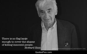 Killing innoacent people – Howard Zinn