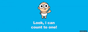 funny cute baby quote facebook cover