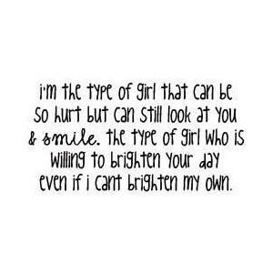 type of girl on Tumblr