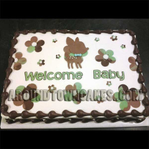 Camo Deer Cakes Around town cakes picture