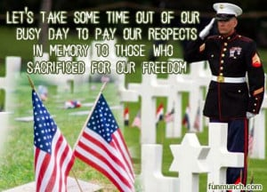 Memorial Day Facebook Status Messages, Quotes, Images