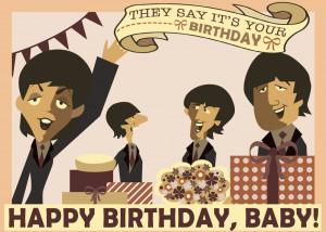 Happy Birthday Beatles Fan