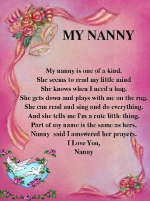 Happy Birthday Heaven Nan Poem