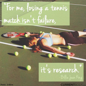 Tennis Sayings For Posters