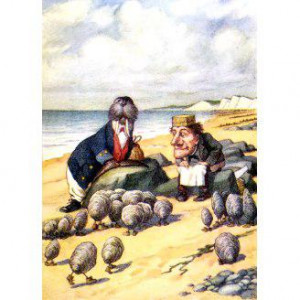 THE WALRUS AND THE CARPENTER IN WONDERLAND