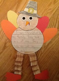 ... Thanksgiving writing craft #Christmas #thanksgiving #Holiday #quote