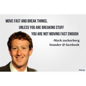 facebook #quotes Mark Zuckerberg