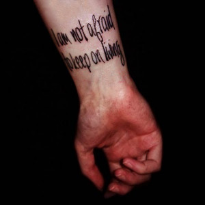 Meaningful Quotes For Tattoo