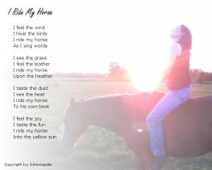 11 I Ride My Horse