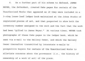 Jasper Johns's Studio Assistant Arrested for Secretly Selling Work