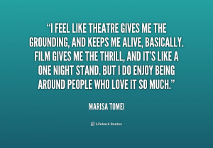 Quotes About Theatre Preview quote