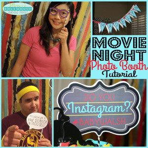 ... photo booth stocked with disguises and famous movie quotes to get all