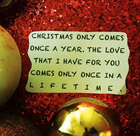 Romantic Christmas Quotes & Sayings