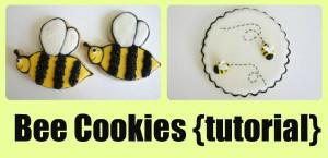 Cute Bee Sayings http://www.somewhatsimple.com/bee-cookies/
