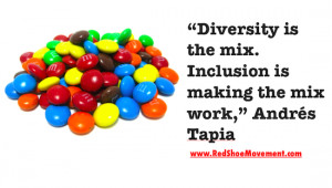 What is cultural diversity? Quote by Andres Tapia